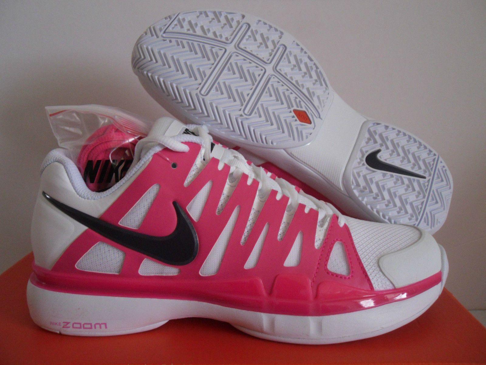 Nueva Nike Mujer Vapor 9 Tour Tour Tour Para Tenis blancoo   rosado   Morado 543222-156   alto descuento
