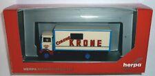 Herpa LKW MB 813 Koffer-LKW Circus Krone 304078