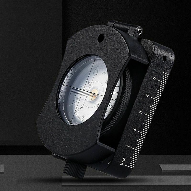 Led Survival Compass Lamp Map Measurement Professional Waterproof With Battery