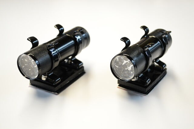 2 x Bait Boat Spot Lights   For use with Viper, Angling Technics