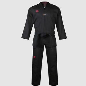MOOTO Korean TaeKwonDo Uniform TKD Basic Dan Dobok Uniforms BS 4.5  WTF BK-Neck