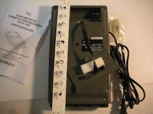 Hamilton-Buhl-HA-802-Cassette-Deck-Player-USB-Port-MP3-w-Box-amp-Instructions