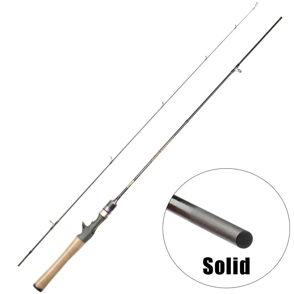 Super Soft Trout Fishing Rod 1.8m 6 Feet Lightweight Lure Weight Solid Carbon