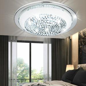 Luxus LED Kristalle Glas Chrom Wand Spot Leuchte Flur Diele Arbeits Zimmer Lampe