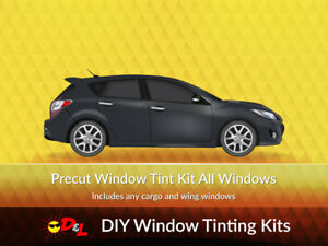 Precut Window Tint Kit For Ford Focus Wagon 2000 2001 2002 2003 2004 2005 2006 2007