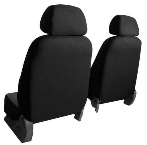 ECO LEATHER /& ALICANTE FRONT UNIVERSAL SEAT COVERS FITS BMW E46