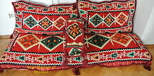 Turkish Kilim Corner Set X Large Sofa Cushion pillows Ottoman Lounge Couch
