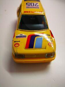 BBURAGO-PEUGEOT-205-Turbo-Rally-Car-1-43-modello-di-auto-da-collezione-MATTONCINI
