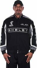 NEW Shelby Cobra Jacket Mens Black Twill Jacket JH Design CLG7 FREE PRIORITY