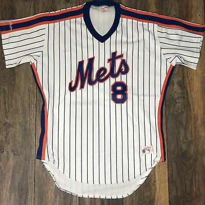 watch 781af 368fb Auth Rawlings MLB Gary Carter Official 1986 New York Amazing Mets Jersey  Size 44 | eBay