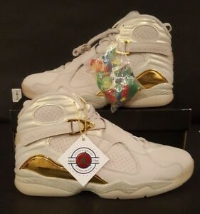 new arrival 17f22 ae8a9 Image is loading Nike-Air-Jordan-VIII-8-Retro-Championship-Trophy-