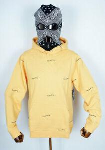 Primitive Skateboards Hooded Hoodie Sweater Sweatshirt Hartford Yellow in M