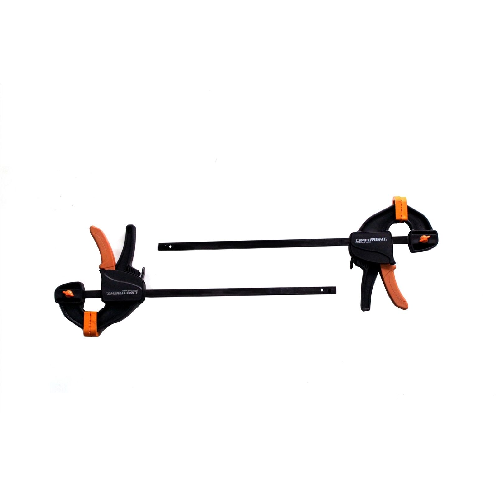 Craftright QUICK ACTION CLAMPS 2 Pieces, One Hand Operation - 300, 450 Or 600mm