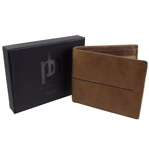 Quality-Leather-Stylish-RFID-Protected-Wallet-by-Prime-Hide-Woodsman-Collection