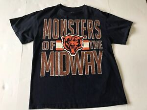 finest selection f1dfa b8c39 Details about Authentic NFL Team Apparel Chicago Bears Monsters of the  Midway Shirt