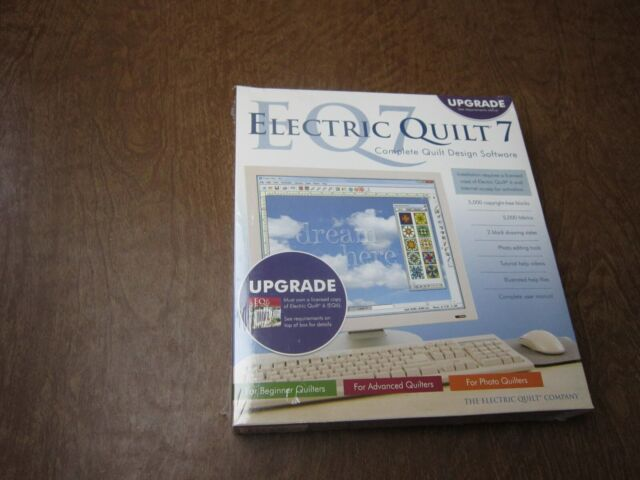 New Electric Quilt 7 Upgrade Pc Windows Complete Quilt Design Software Ebay