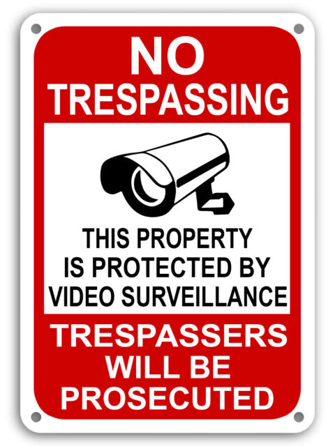Warning CCTV Cameras Sign Pack of 4 MISC32 All Sizes /& Materials Sticker