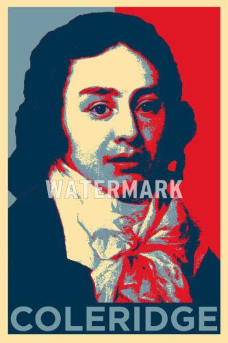 Samuel Taylor Coleridge-Esperanza Poster-Foto Impresión Regalo De Arte Original