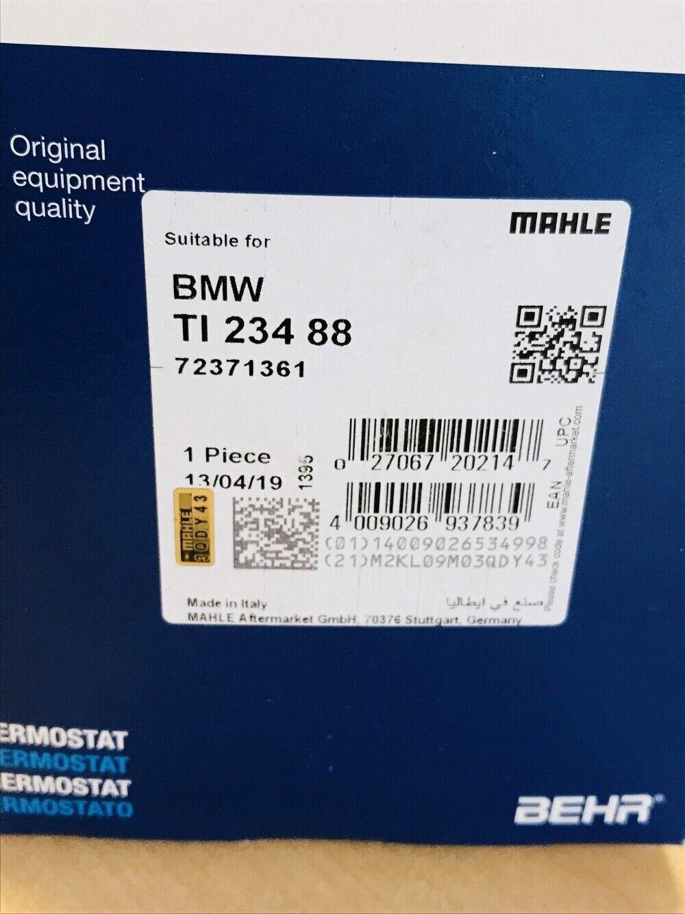 Kühlmittel   für BMW 3er Compact 3er 3er Coupe BEHR Thermostat