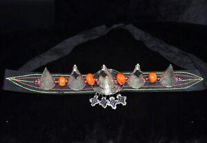 """""""Isni"""" Bijoux de tête Amazigh Maroc Ancien-Head jewelry Amazigh Morocco Old"""