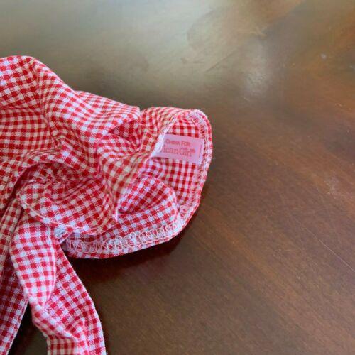 Retired American Girl Kirsten Meet Outfit Bonnet Hat NEW