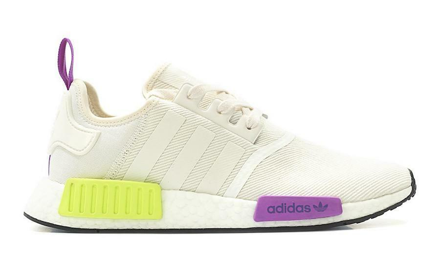 Mens Adidas NMD_R1 Semi Solar Yellow Chalk White D96626