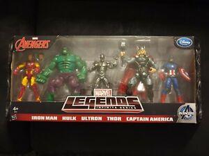 Marvel legends avengers 5-pack hasbro for disney store exclusive