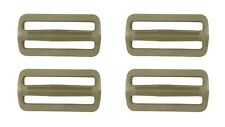 "4 x Tan GhillieTex 500 IRR 25mm 1/"" Ladderlocs DIY Tactical used on mtp multicam"