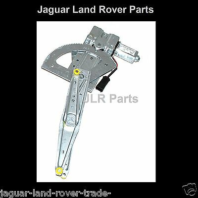Land Rover Defender Drivers Side Front Window Regulator with Motor - CUH000082