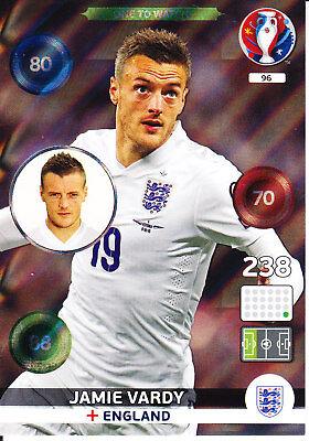 Panini Euro 2016 - Adrenalyn XL - Jamie Vardy - England ...