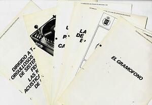 BANG-amp-OLUFSEN-LOTE-DE-6-FOLLETOS-INFORMACION-DE-PRODUCTO-ORIGINALES-LOTE-2