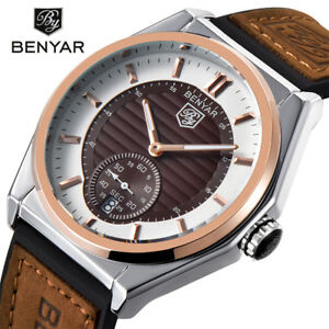 94cd9b11afb Image is loading BENYAR-Top-Brand-Luxury-Military-Quartz-Fashion-Sport-