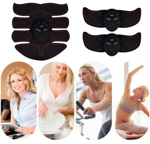 Smart EMS ABS Hips Trainer Muscle Toner Belt Abdominal Body Slimming Fat Burner