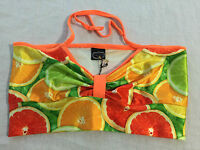 Zara Terez Citrus Bikini Halter Top Little No Size Tag, Fits Girls' Xl