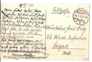 Feldpostkarte-1-Weltkrieg-Staufenberg-Pforte-vom-18-03-1918
