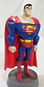 DC-Comics-Justice-League-Superman-4-034-Toy-Figure-2004-Post-Cereal