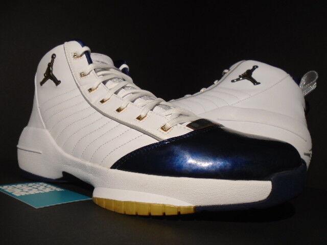 2004 NIKE AIR JORDAN XIX 19 SE USA OLYMPIC OG WHITE gold NAVY blueE 308492-171 14