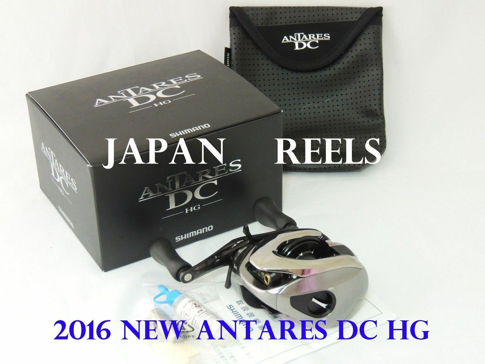 NEW SHIMANO 16 ANTARES DC HG RIGHT HANDLE BAITCASTING REEL JAPAN FAST DELIVERY