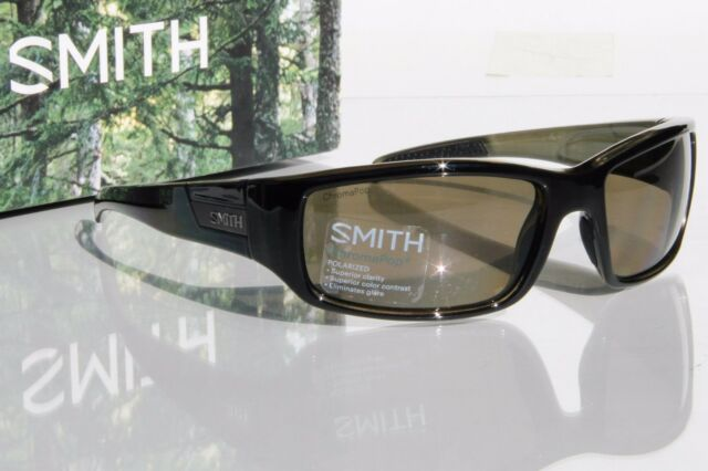 a941d776540 Smith Optics Sunglasses Adult Lifestyle Prospect Polarized POCP Black Gray  Green