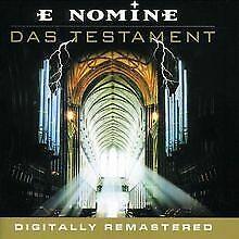 Das-Testament-Dig-Remastered-von-E-Nomine-CD-Zustand-gut