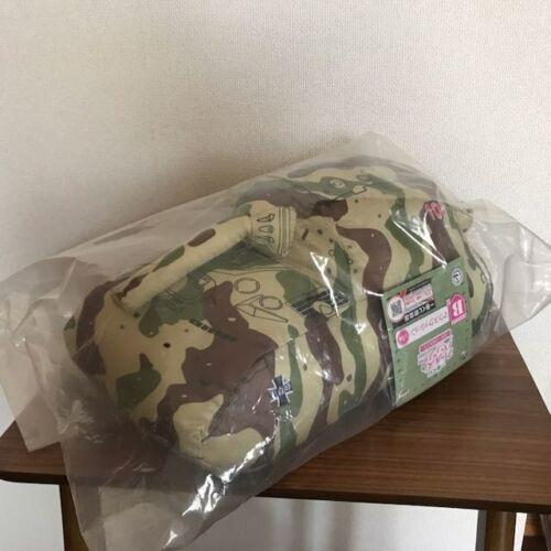 Girls Und Panzer Mouse Cushion Tank Camouflage 30cm Banpresto Ichiban Kuji Japan