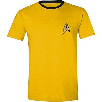 "Star Trek - Herren T-Shirt ""Kirk Uniform"" Gelb"