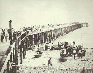 Image Is Loading Newport Beach Doryman Fish Market Amp Pier Vintage