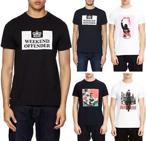 Weekend-Offender-T-Camisa-Prendas-para-el-torso-estilos-surtidos