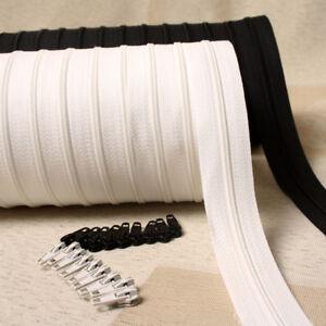 6meter Long Zipper Nylon 3 Duvet Cover Pillow Cushion