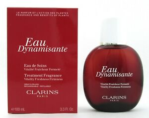 Clarins Eau Dynamisante Fragrance Spray Refillable 3.3 oz./100 ml. New In Box