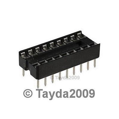 5 x 16 pin DIP IC Sockets Adaptor Solder Type