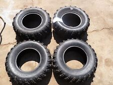BRAND NEW MOOSE 901X ATV TIRES AT 25X8-12 (2), 25X10-12 (2)  FRONT REAR SET 4