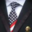 thumbnail 1 - Washington-Ties-Beautiful-American-Flag-Tie-American-Ingenuity