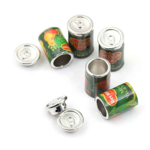 Mini Fruit Canned Dollhouse Miniature Food Kitchen Doll Accessories Xmas GifRSDE